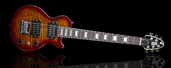Shredneck Travel Guitar - STVD-CS-Cherry Sunburst